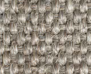 Grobes Sisalgewebe mit Latexrücken