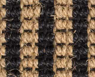 Grobes Kokos-Sisal-Gewebe mit Latexrücken
