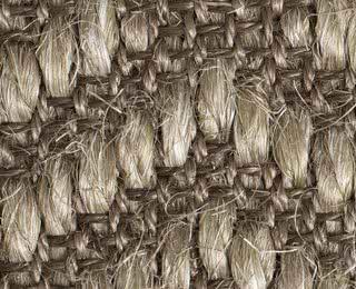 Sisalgrobgewebe 100% Sisal, Latexrücken