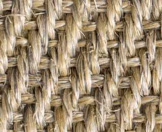 Sisal Fischgrat natur-meliert mit Latexrücken