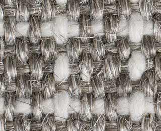 Grobes Sisal-Woll-Gewebe mit Latexrücken