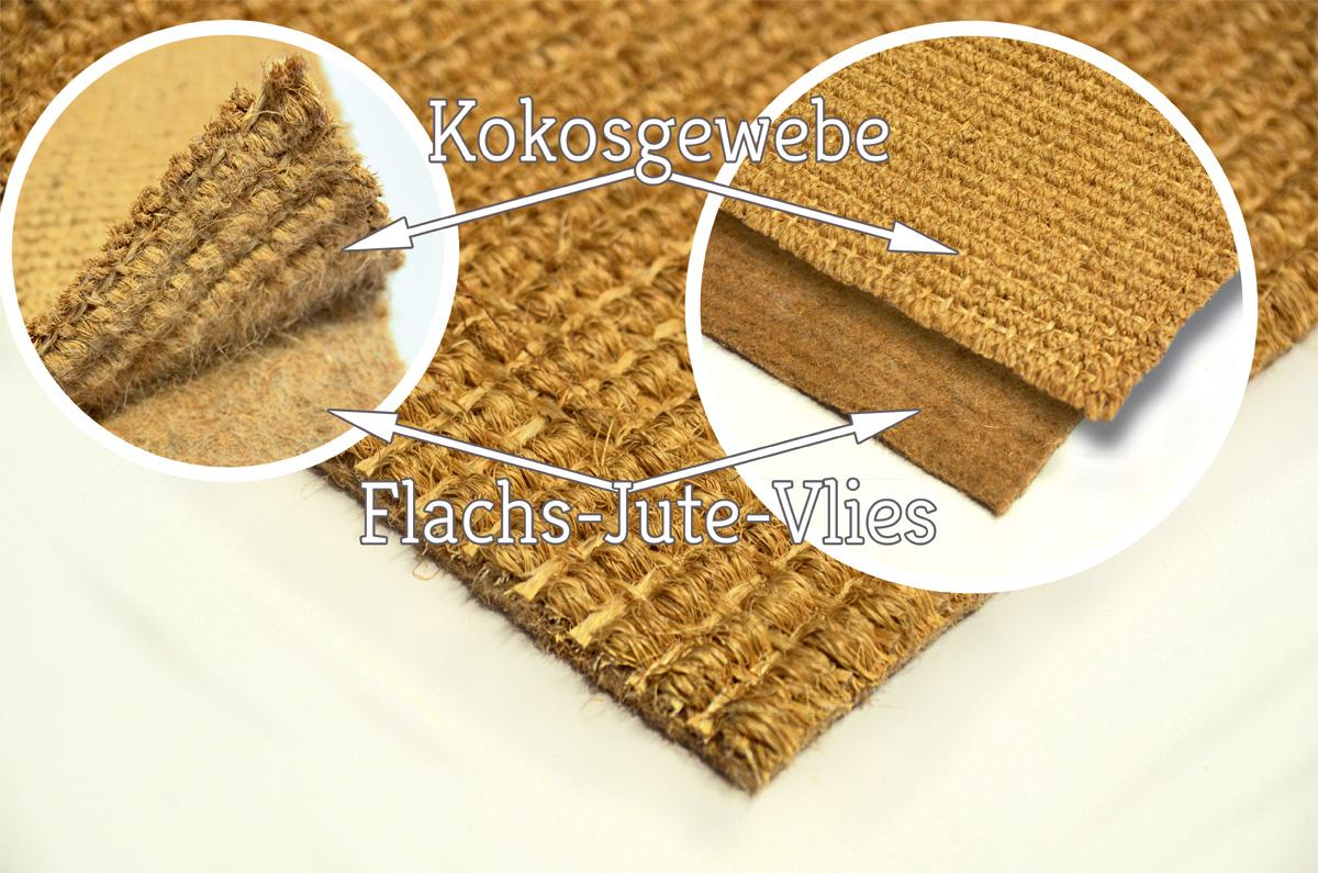 naturfaserteppich mit vliesr cken im lexikon der teppichmaterialien. Black Bedroom Furniture Sets. Home Design Ideas