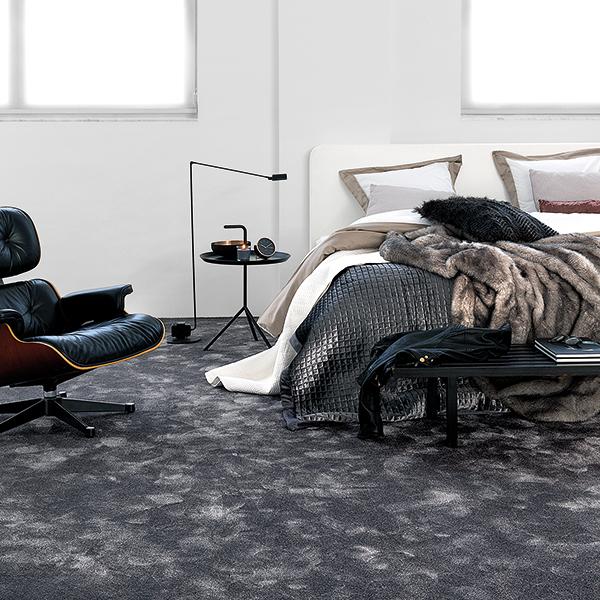 veloursteppichboden auslegware f r behagliches wohnen. Black Bedroom Furniture Sets. Home Design Ideas