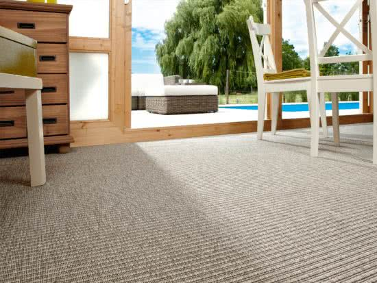 Nature Tweed grau Teppichboden