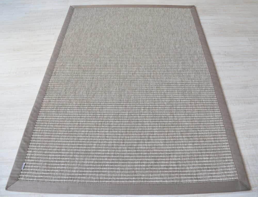webteppich in sisal optik tweed grau f r drinnen und. Black Bedroom Furniture Sets. Home Design Ideas