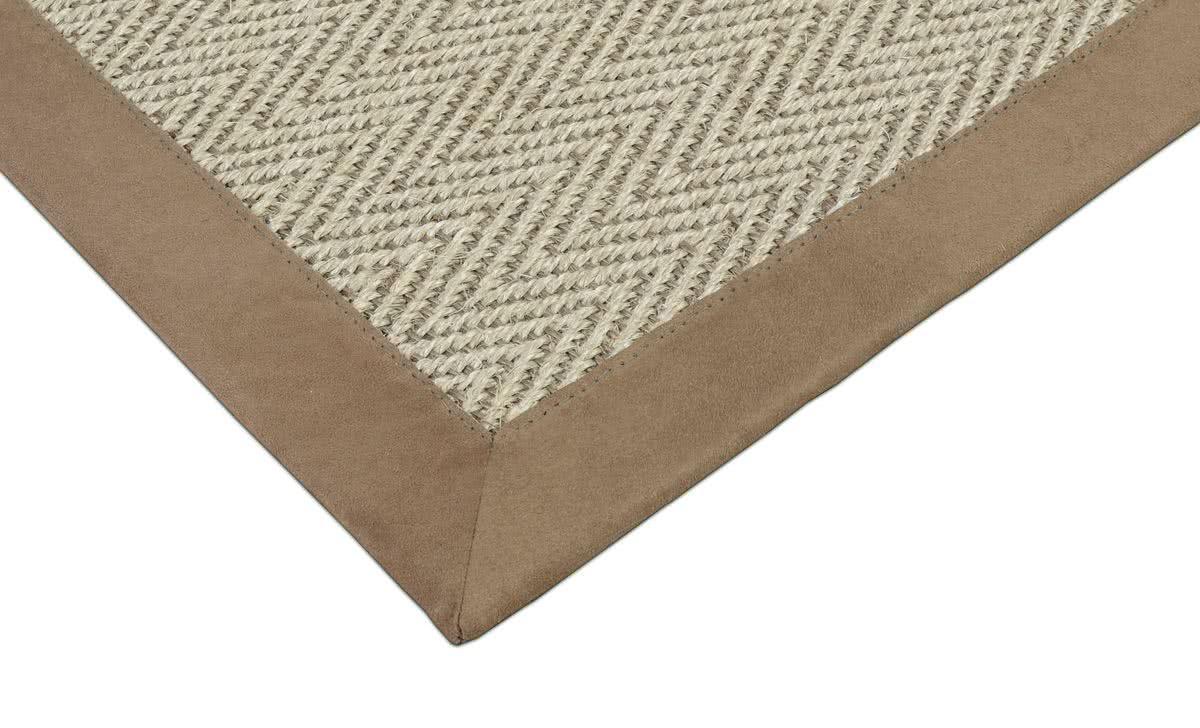 sisal teppich bellevue hanf mit microfaserbord re. Black Bedroom Furniture Sets. Home Design Ideas
