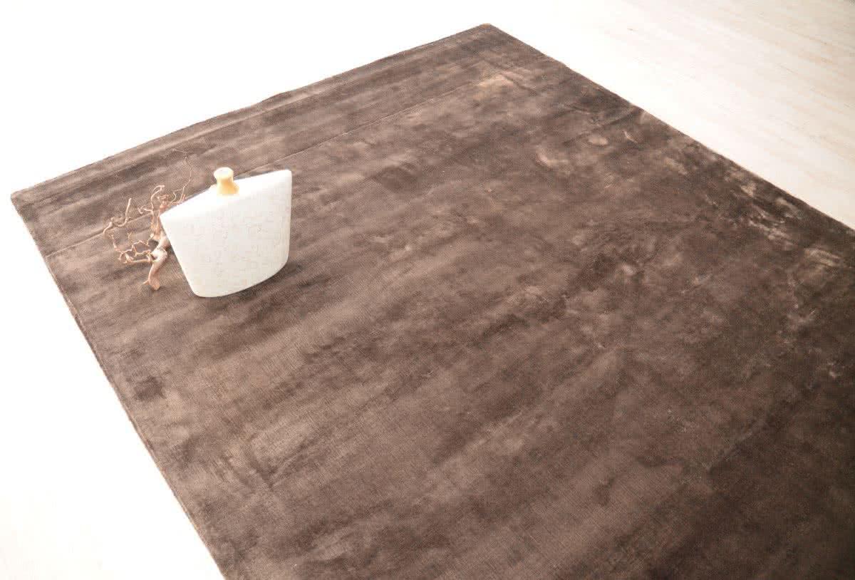 web teppich elegance charcoal wunschma handgewebt. Black Bedroom Furniture Sets. Home Design Ideas