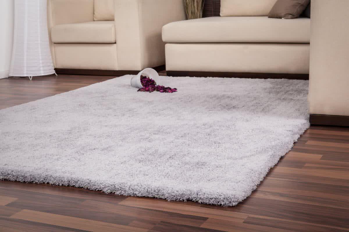 hochflor teppich versailles silber von lalee. Black Bedroom Furniture Sets. Home Design Ideas