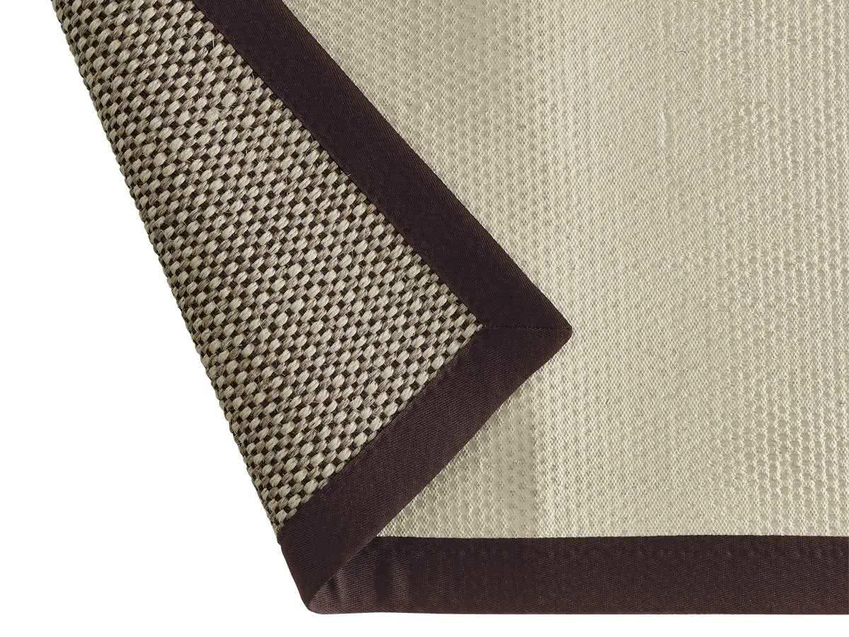 sisalteppich brasil natur braun latexr cken wunschma. Black Bedroom Furniture Sets. Home Design Ideas