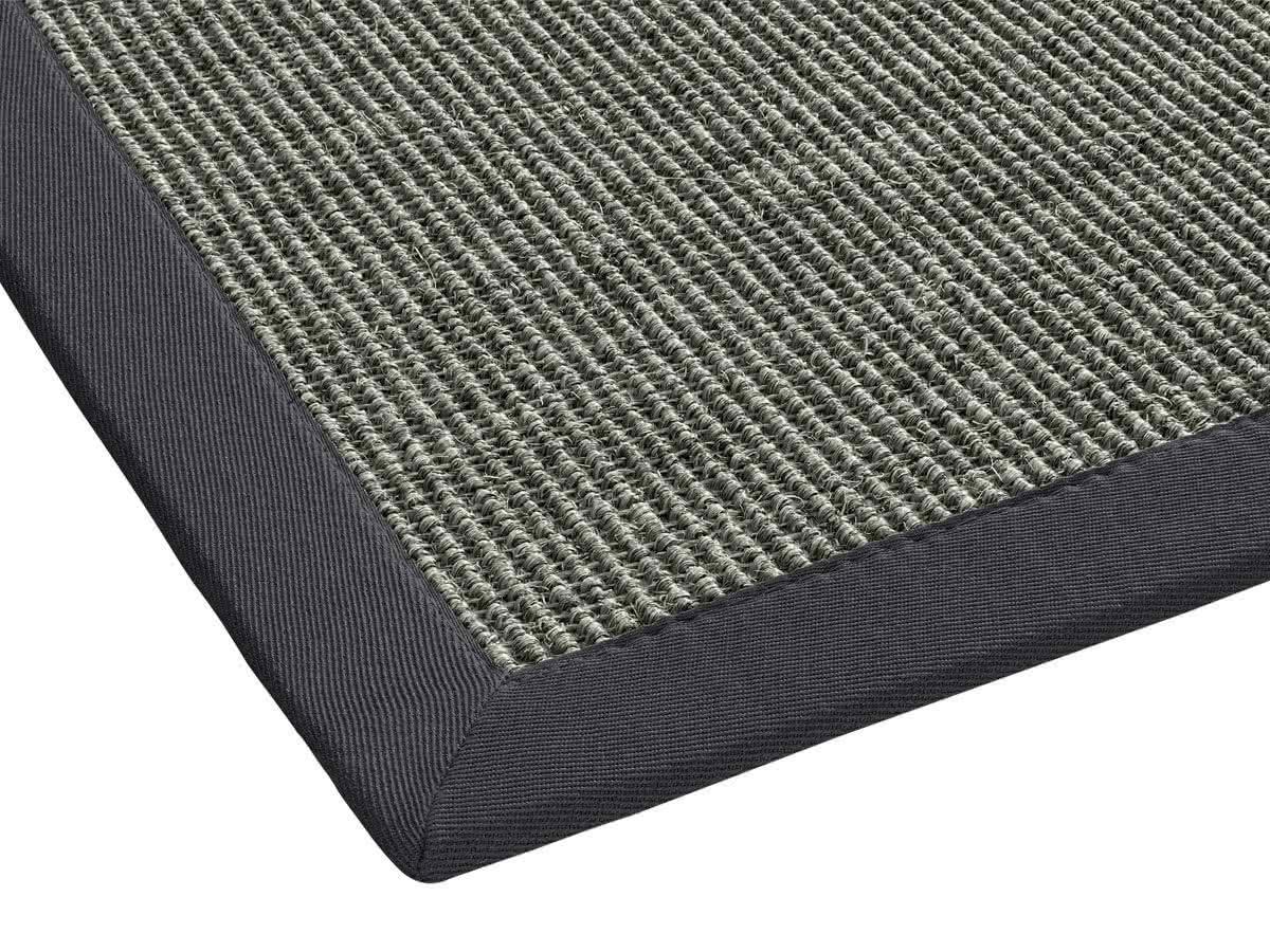 Sisal Teppich Mara : sisal teppich mara anthrazit mit polyesterbord re ~ Indierocktalk.com Haus und Dekorationen