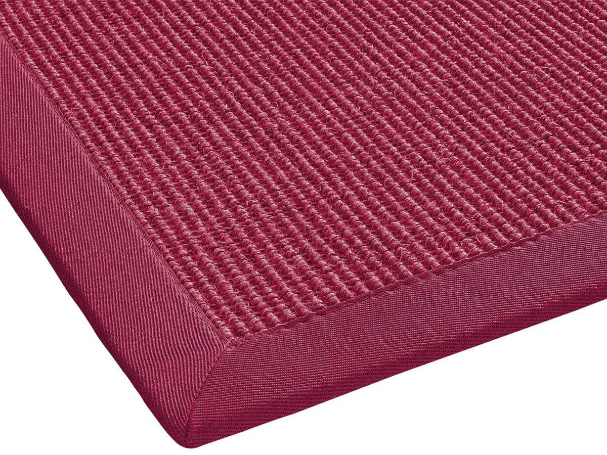 sisal teppich mara rot im wunschma von dekowe. Black Bedroom Furniture Sets. Home Design Ideas