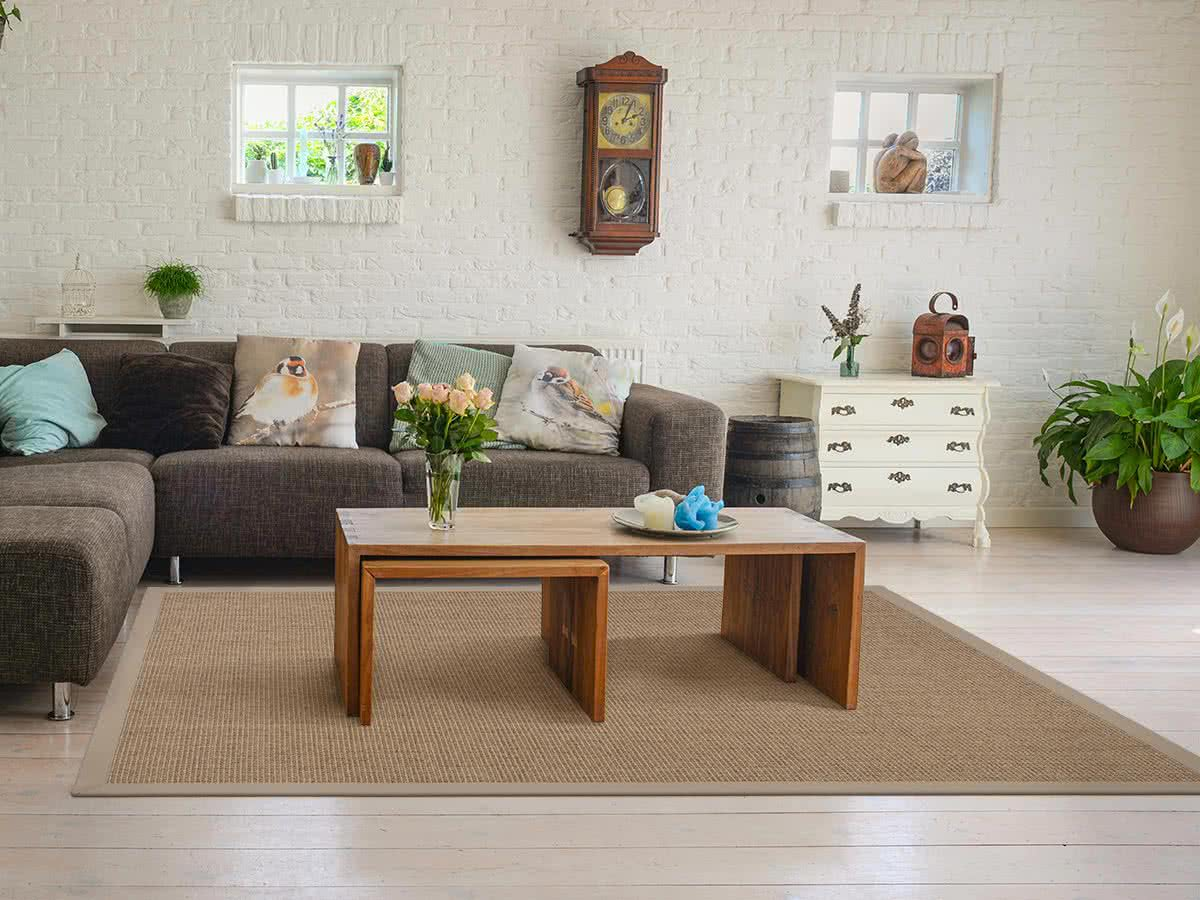 Sisal teppich mit grobgewebe kaufen im carpet center