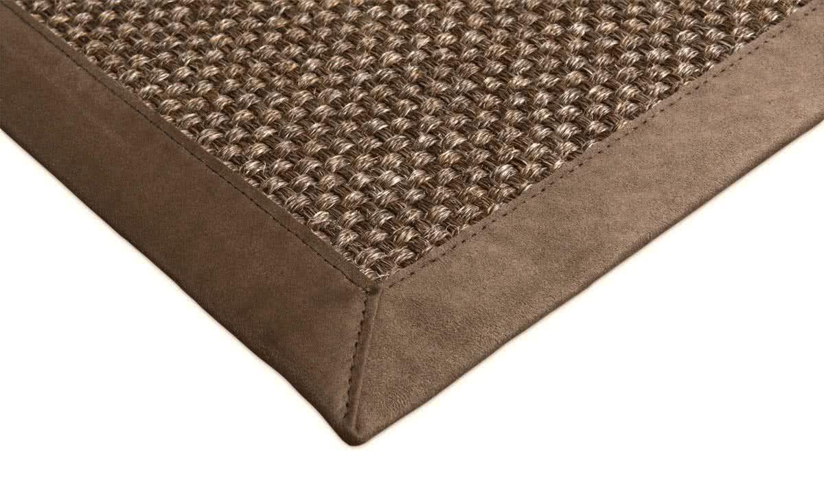 sisal teppich cuadro braun meliert. Black Bedroom Furniture Sets. Home Design Ideas
