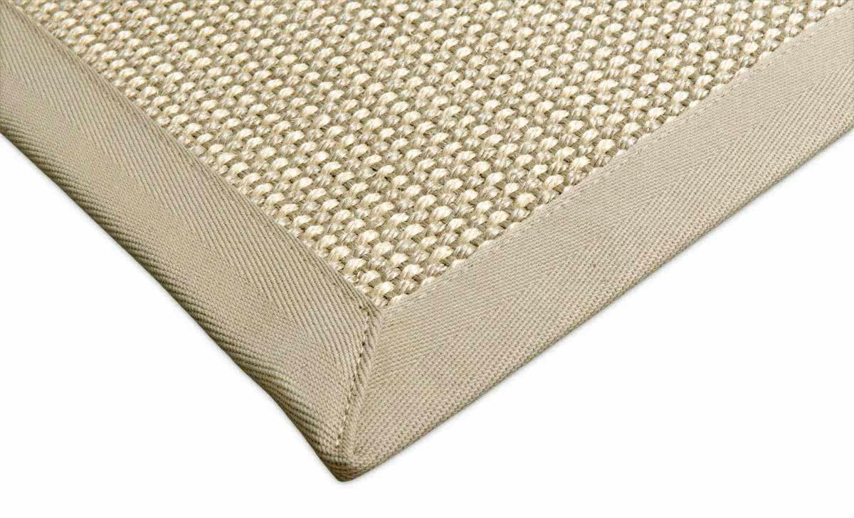 sisal teppich brasil creme hellgrau zweifarbig. Black Bedroom Furniture Sets. Home Design Ideas