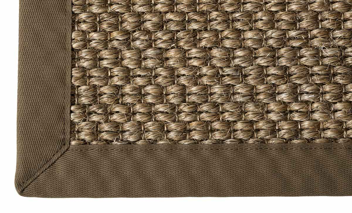 sisal teppich mani rye mit baumwollbord re. Black Bedroom Furniture Sets. Home Design Ideas