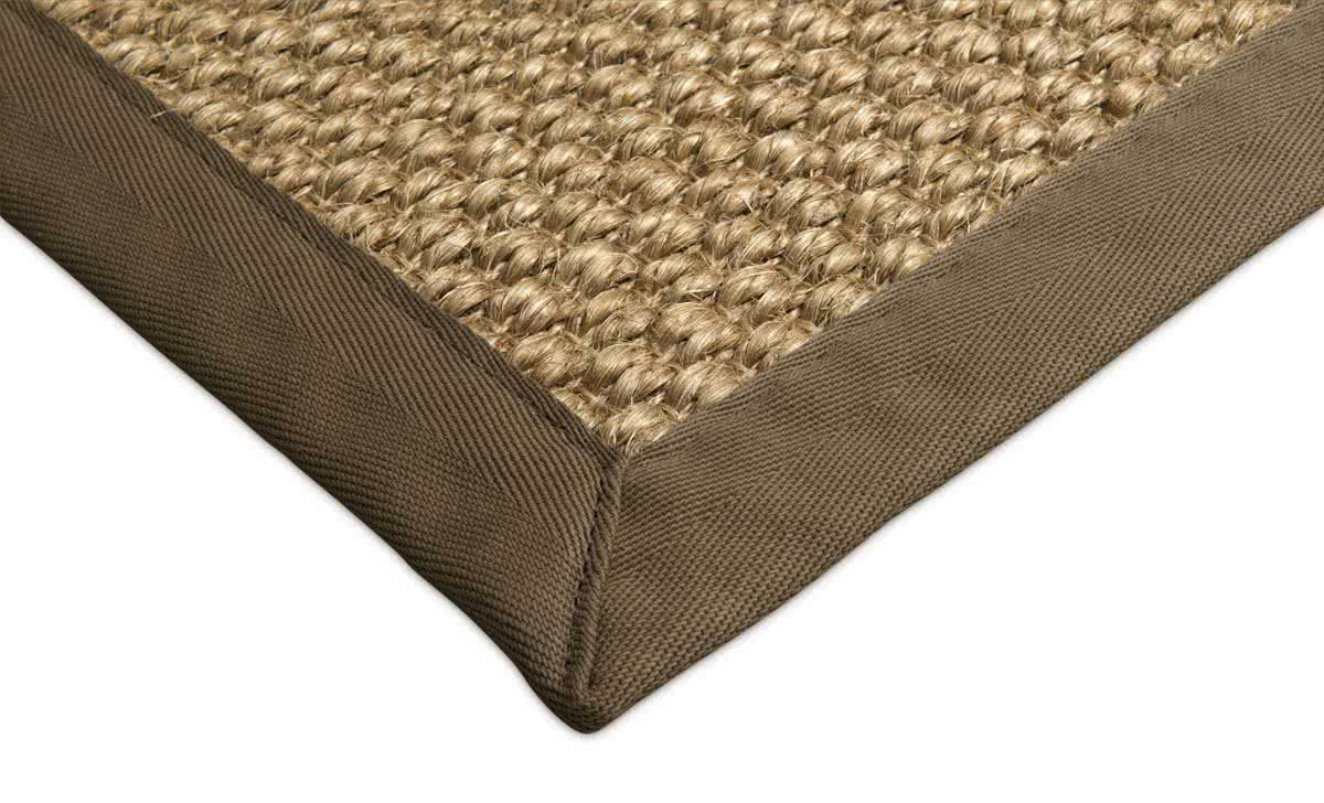 sisal teppich mani wheat mit baumwollbord re. Black Bedroom Furniture Sets. Home Design Ideas
