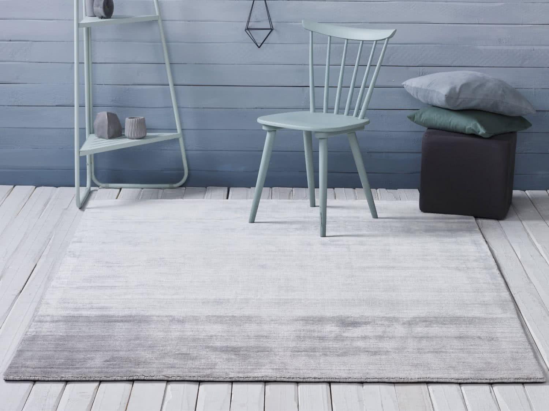 viskose teppich shadow ivory handgewebt. Black Bedroom Furniture Sets. Home Design Ideas
